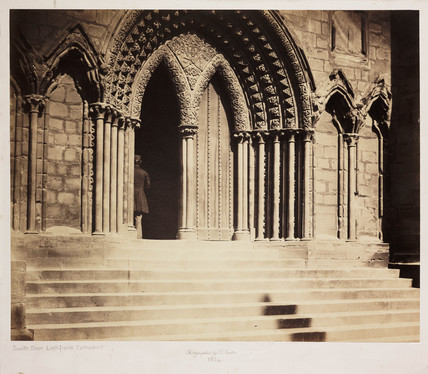 Lichfield Cathedral, South Transept, 1858.