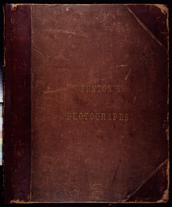 'Fenton's Photographs', 1855.