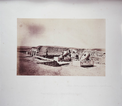 'Mortar Batteries in Front of Piquet House, Light Division', 1855