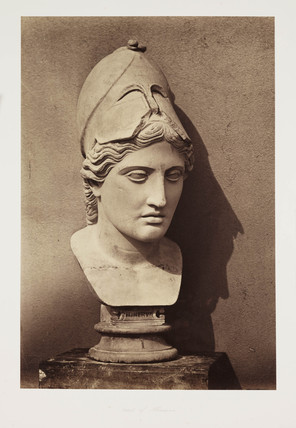 'Head of Minerva', c 1857.