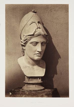 'Head of Minerva', c 1857.