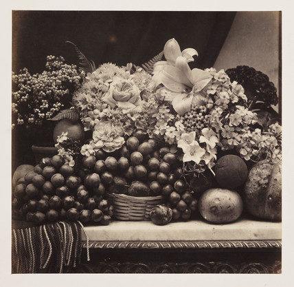 'Flowers and Fruit', 1860.
