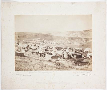 'Camp at Sebastopol', 1855.