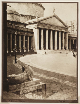 'A Church. Naples', 1910.
