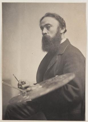'A Moore', c 1890.