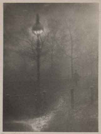 'Fog in Hyde Park'.