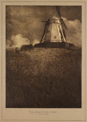 'The Harvest that is to be', 1908.