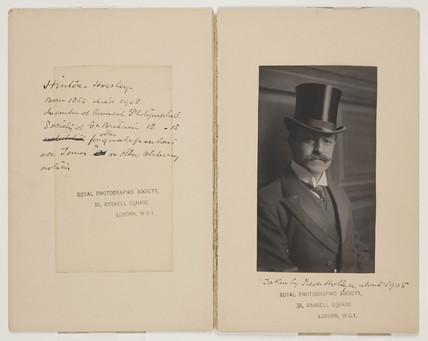 'Alfred Horsley Hinton', 1905.