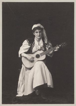 'The Singer', 1894.
