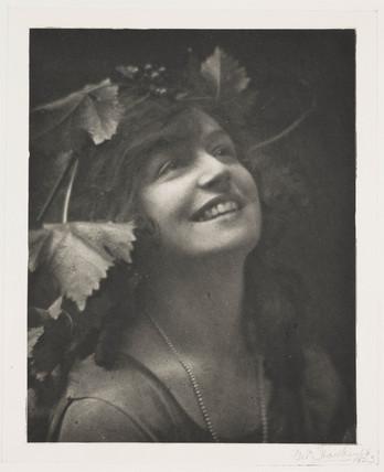 'Bacchante', 1923.