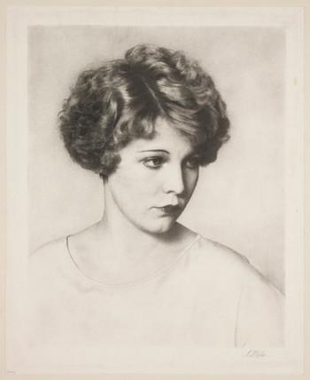 'Muriel Evans', 1928.