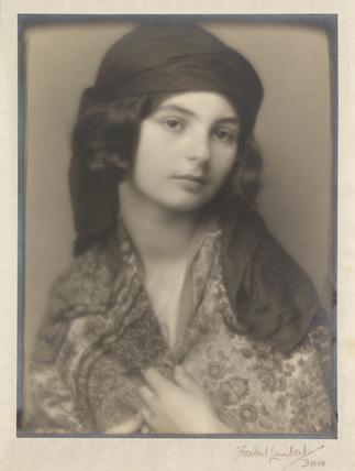 'The Paisley Shawl', c 1920.