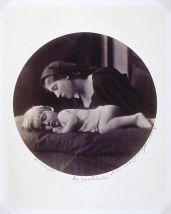 'My Grandchild', 1865.