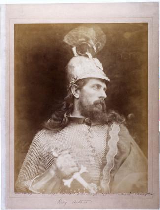 'King Arthur', c 1874.