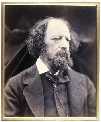Lord Tennyson, English poet, c 1870s.