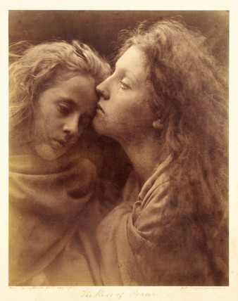 'The Kiss of Peace', 1869.