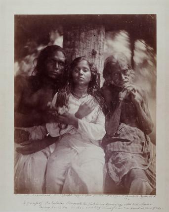 'A Group of Kalutara Peasants...', 1878.