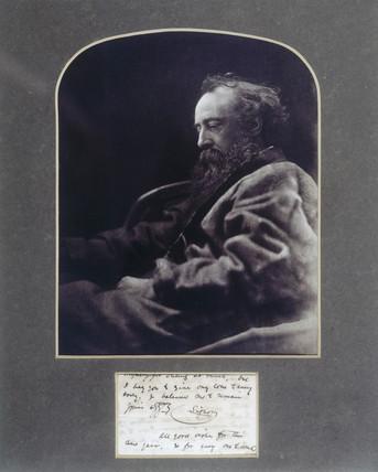 'G F Watts RA', 1864-1865.