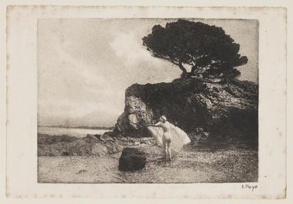 Figure study, 1912.