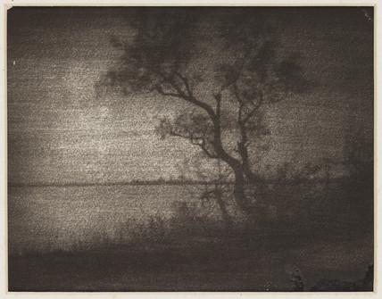 A landscape, 1895-1900.