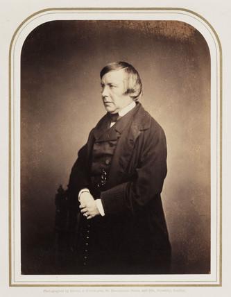 Portrait of an unknown man, c 1855.