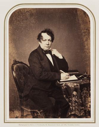 John Baldwin Buckstone, c 1855.