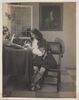 'D'apres le tableau de Metsu', c 1910.