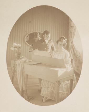 'Lecon de Musique', 1911.