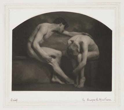 'Grief', c 1900s-1910s.