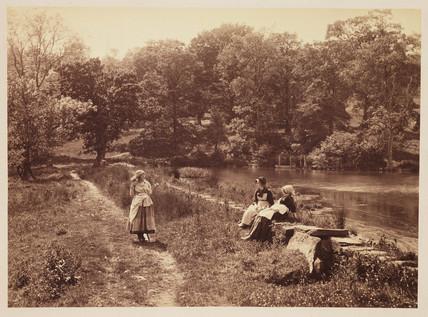 'Wayside Gossip', 1883.