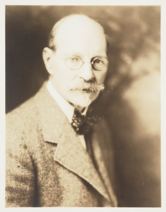 Portrait of H Mortimer Lamb, c 1937.