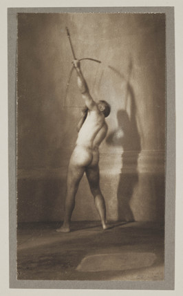 'The Athlete', c 1920.