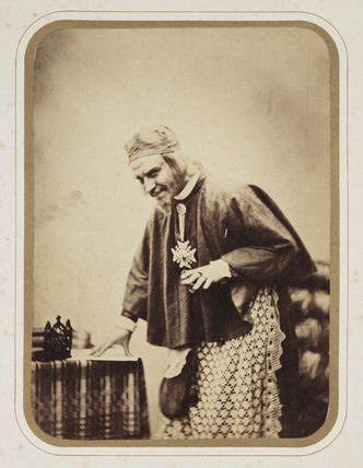 'Mr Werner as Richelieu', c 1857.