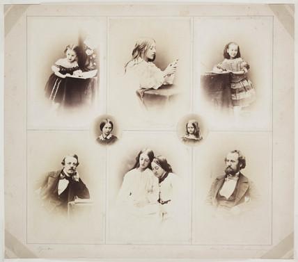 Vignettes, 1857.
