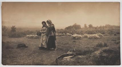'Carolling', 1887.
