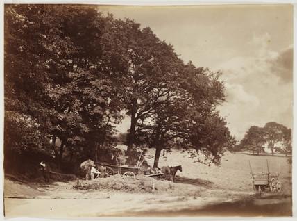 'The Haycart', 1868.