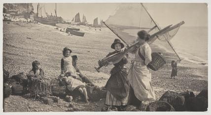 'Gossip on the Beach', 1884.