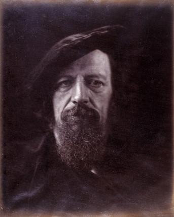 Alfred Lord Tennyson, c 1865.