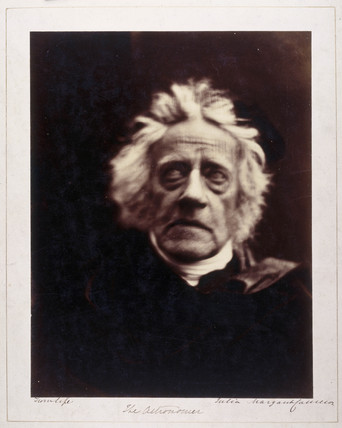 'The Astronomer', Sir John Herschel, 1867.