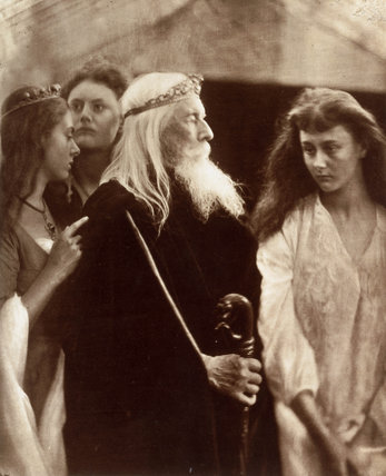 'King Lear allotting his Kingdom to his three daughters', 1872.