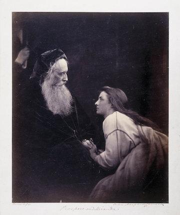 'Prospero and Miranda', c 1865.