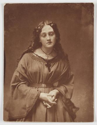 A Devotee', c 1860s.