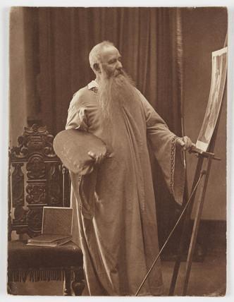 'The Painter', c 1860s.