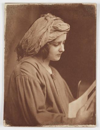 'A Fair Reader', c 1860s.