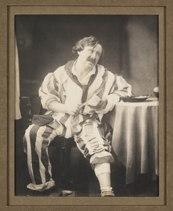 'Mr Coleman as Belphegor', c 1860s.