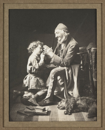 'Play', c 1860s.