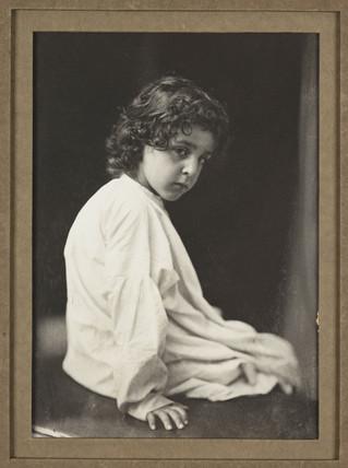 'Infant Samuel', c 1860s.