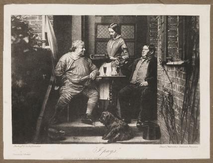 'I pays', 1858.