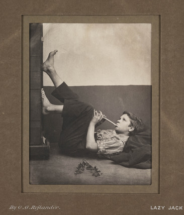 'Lazy Jack', c 1860s.