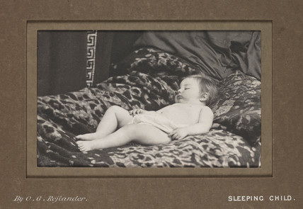 'Sleeping Child', c 1860s.